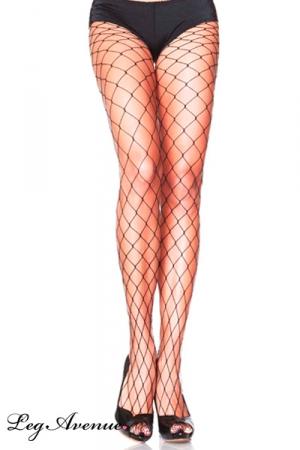 Collants sexy Filet : Paire de collants filet à larges mailles, un basic ultra sexy.